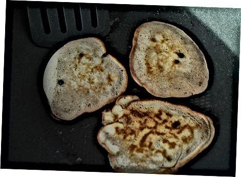 Fudgy Shokolad Chip Pancakes tayyorlash