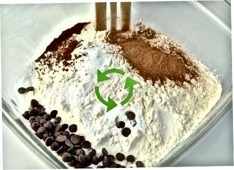 Qovoq shokoladli chip kreplarini tayyorlash