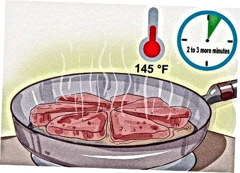 Qovurilgan tuyaqush biftekini tayyorlash
