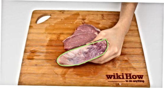 Підготовка м'яса до нарізки