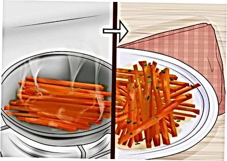 烹饪胡萝卜