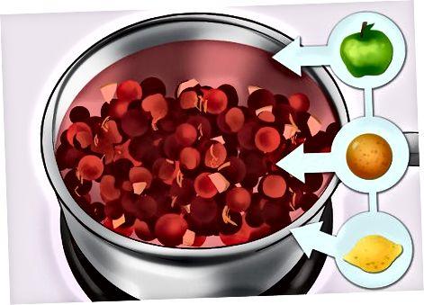 制作蔓越莓酱