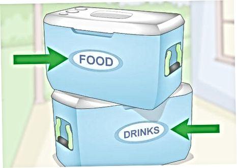 Ruajtja e ushqimit në një ftohës