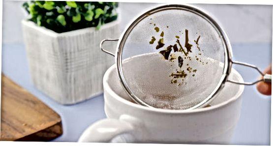 Використання чайних ситечок