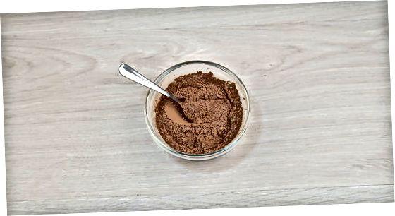 תערובת מים חמים שוקולד חם