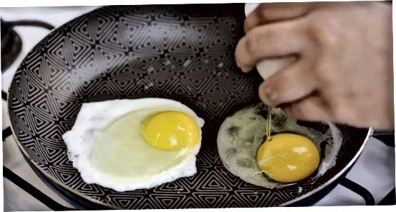 Kepimo kiaušiniai orkaitėje
