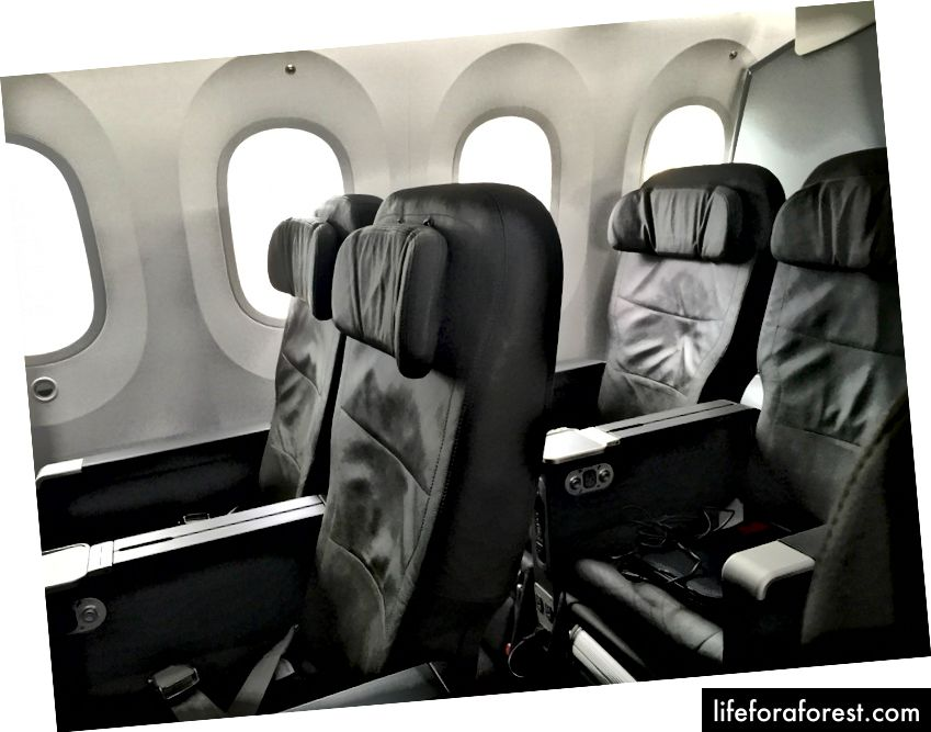 Jetstars Boeing 787 Business Class-oversikt