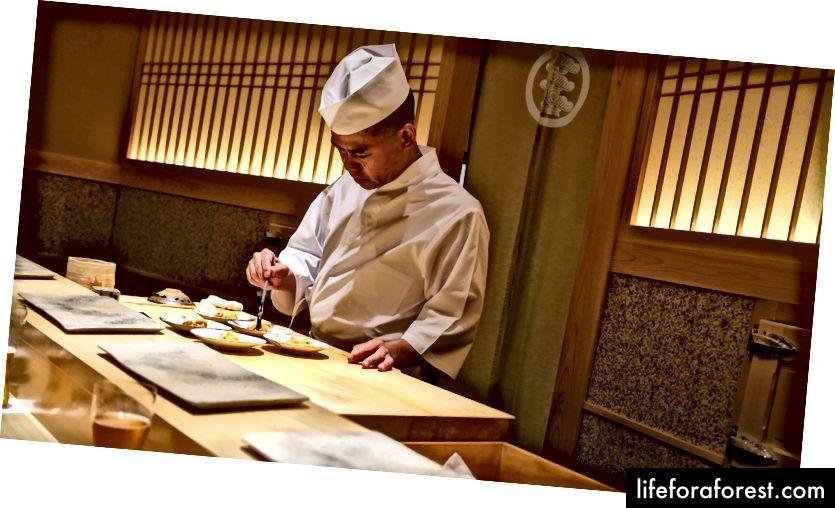 Saito-san på Sushi Saito