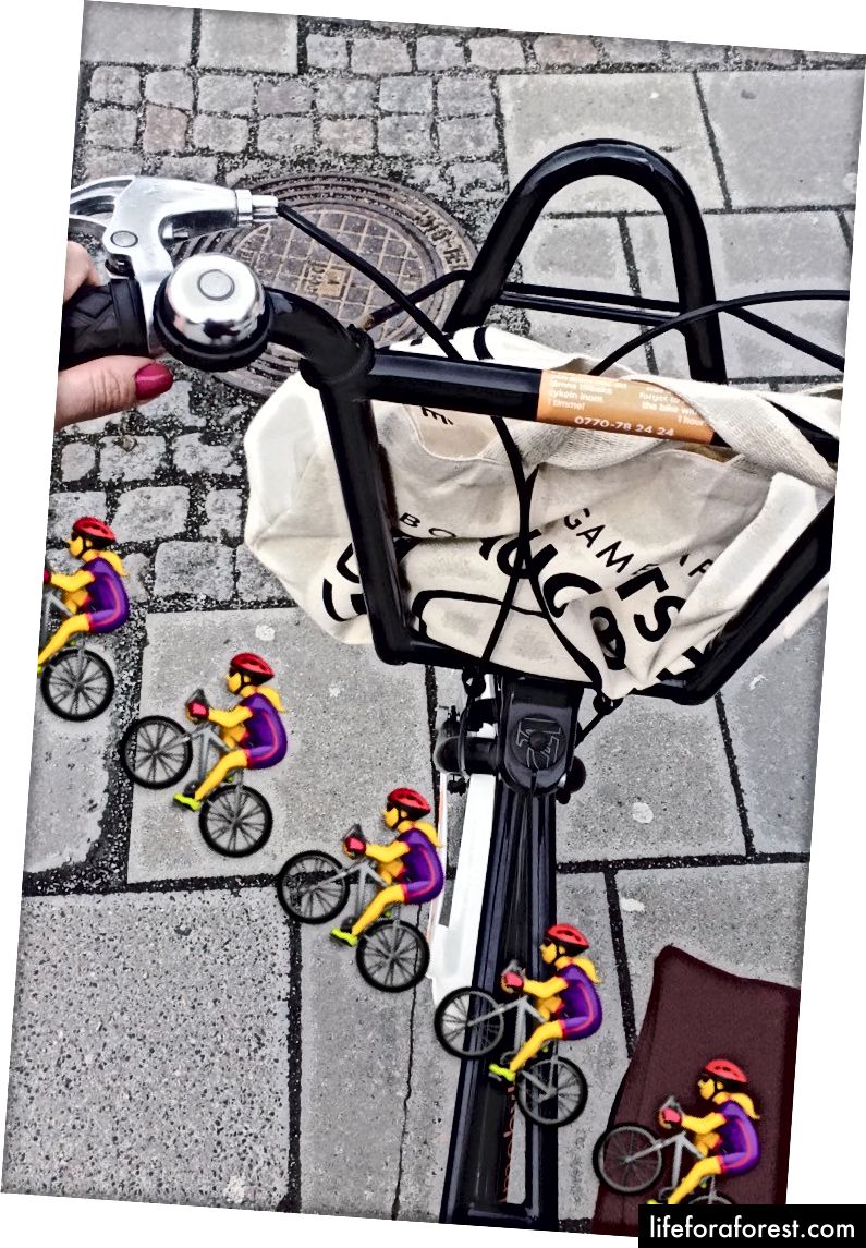 Malmö By Bike bilan Instagram-da do'stona velosipedda.