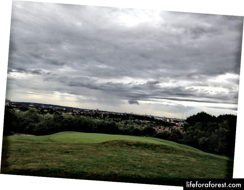 Đi bộ quanh sân golf - một hình thức xã hội hợp lý hơn so với chơi golf thực sự