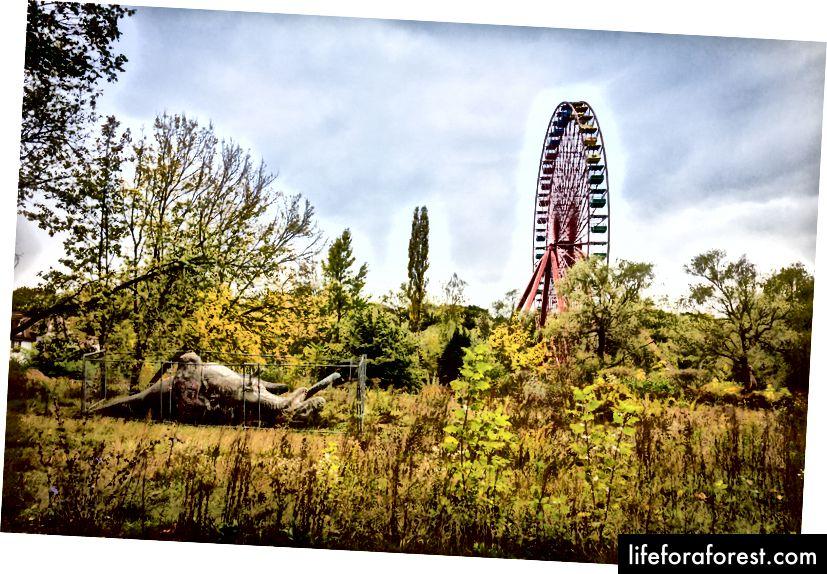 Công viên giải trí Spreepark bị bỏ hoang là một nơi giống như một bộ phim để ghé thăm. Ảnh: RobertKuehne / Shutterstock.