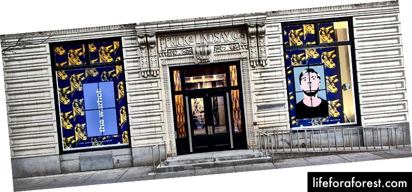 Bảo tàng Andy Warhol ở Pittsburgh, PA, ảnh © Abby Warhola