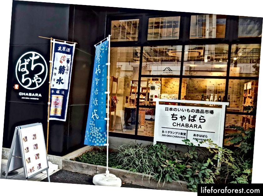 Chabara Kompleksi, Akihabara, Tokyo. Görüntü Kaynağı: Sağlıklı Debu.