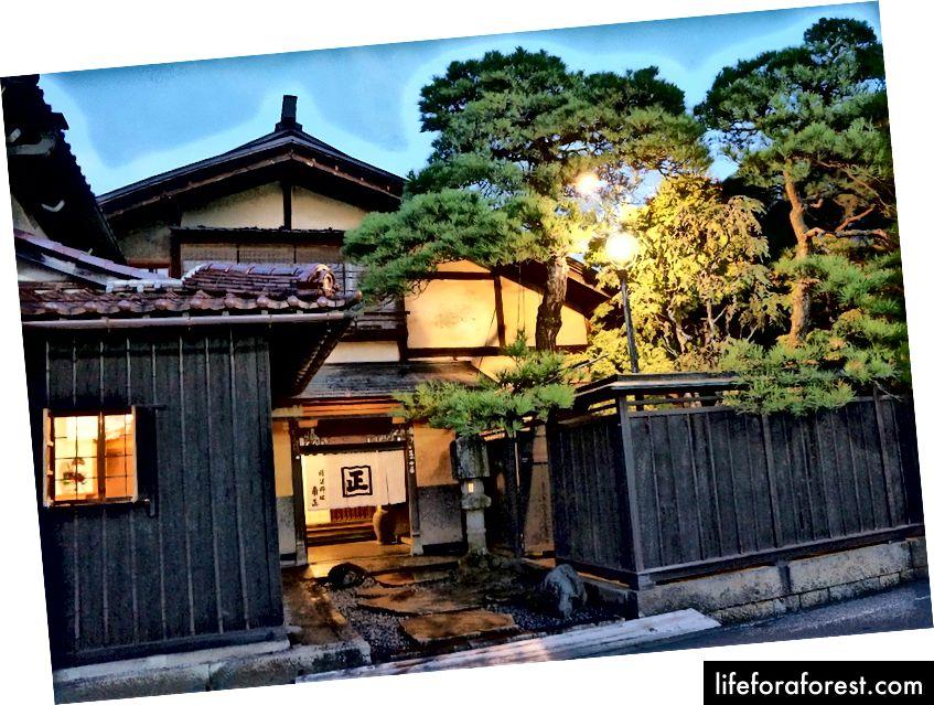 Kakusho, Takayama shahri, Gifu prefekturasi. Rasm manbasi: Tabelog.