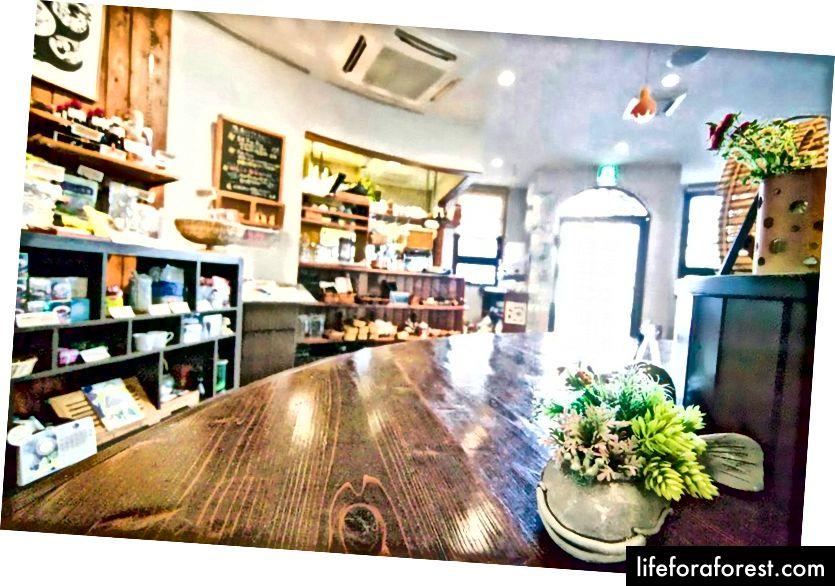 Shojin kafesi Foi, Vakayama shahri, Shinturi, Vakayama prefekturasi. Rasm manbai: Facebook orqali Shojin Cafe Foi