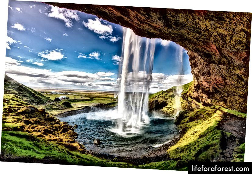 Seljalandsfoss sharsharasi