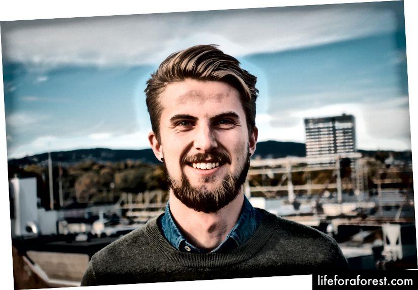 Viktor Rydal, 23 yoshda.