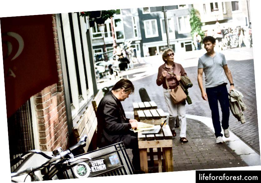 Amsterdam, sentyabr, 2016 (Ien Sanders)