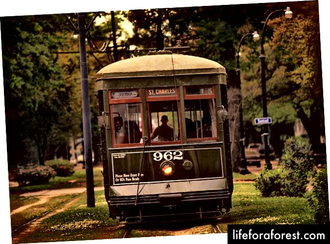 Nyu-Orleanning ajoyib tramvaylari