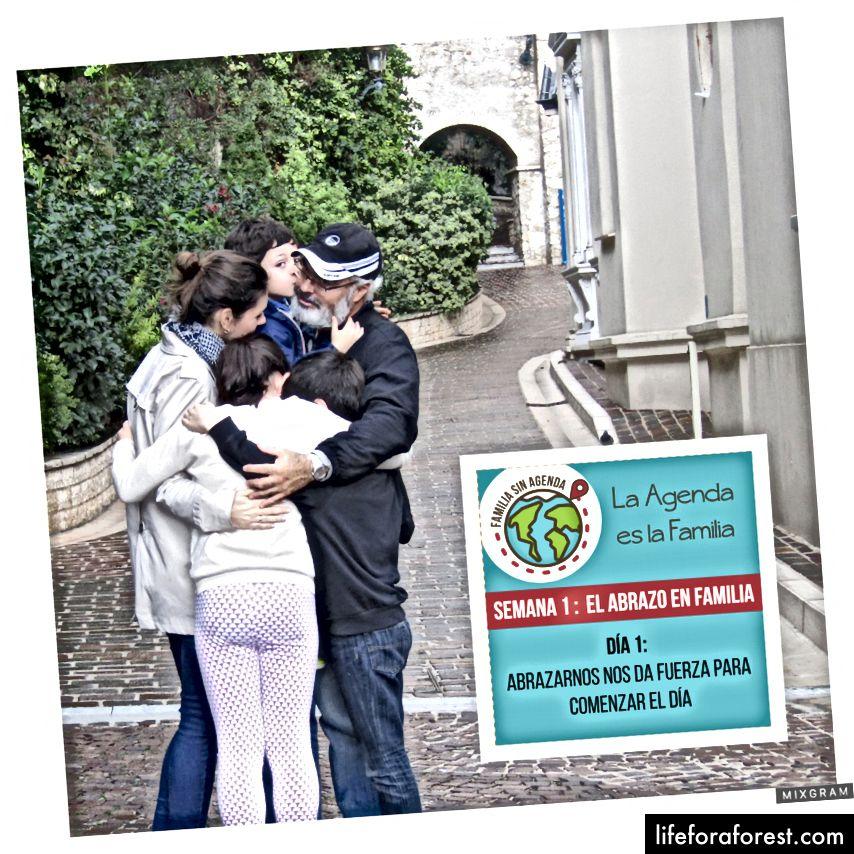 Наша кампанія цінностей: Перший тиждень про сімейні обійми! @ claudia.clavier