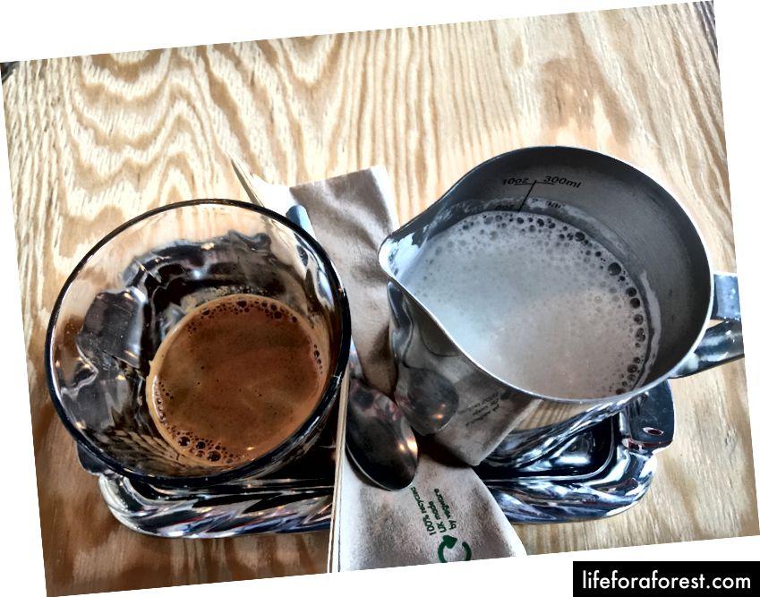 Bare en av de deilige kaffene fra Reykjavik Roasters