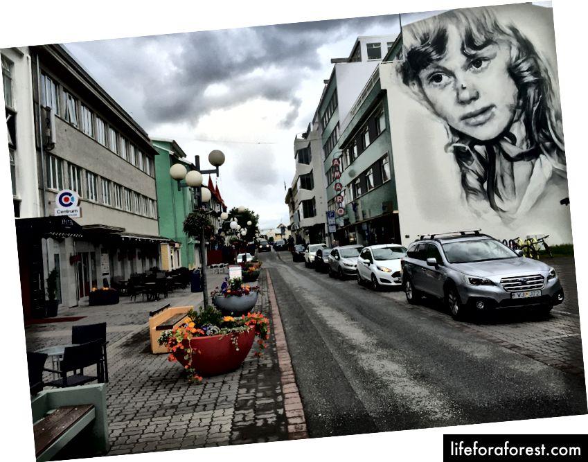 Gå gjennom Akureyri
