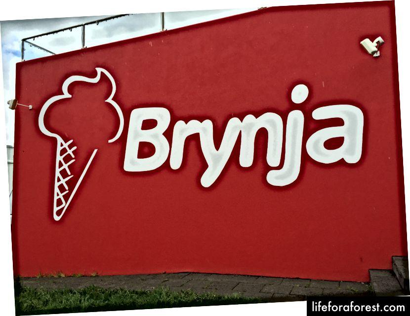 Den legendariske iskrembutikken Brynja