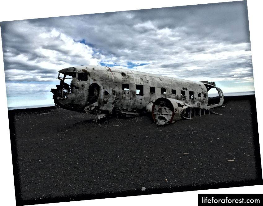 DC-3 vrak på Sólheimasandur