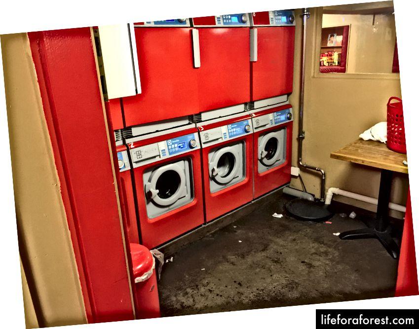 Vaskemaskiner The Laundromat Café