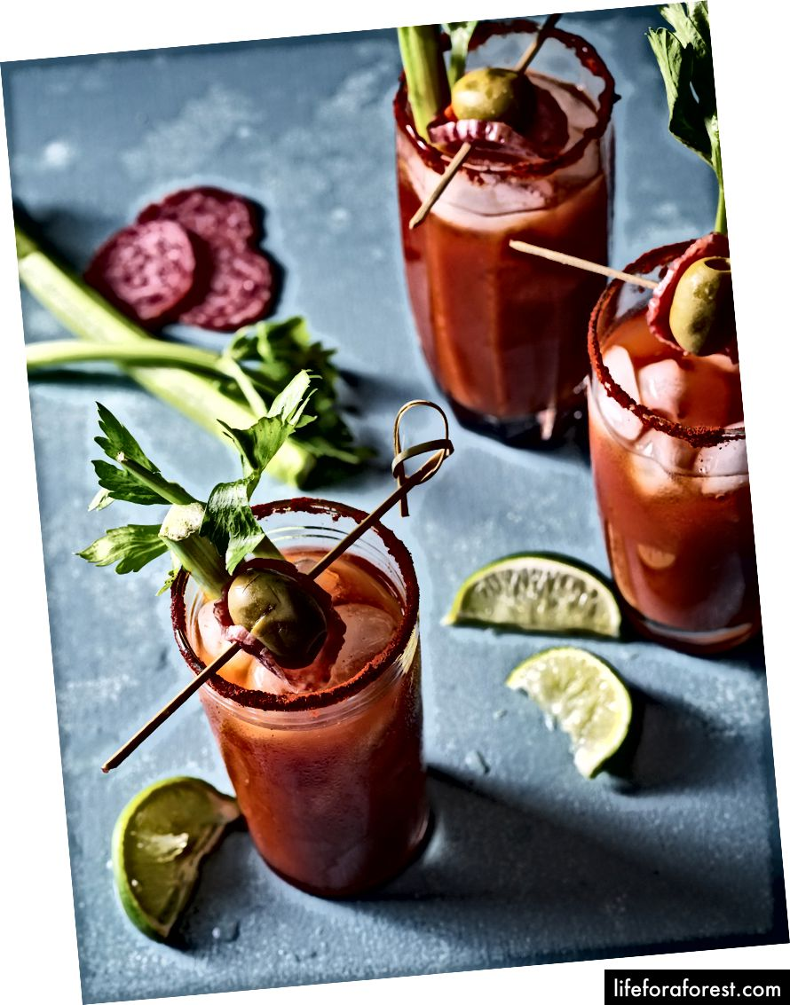 Game Day Bloody Mary With Saucisson Sec Recipe Here