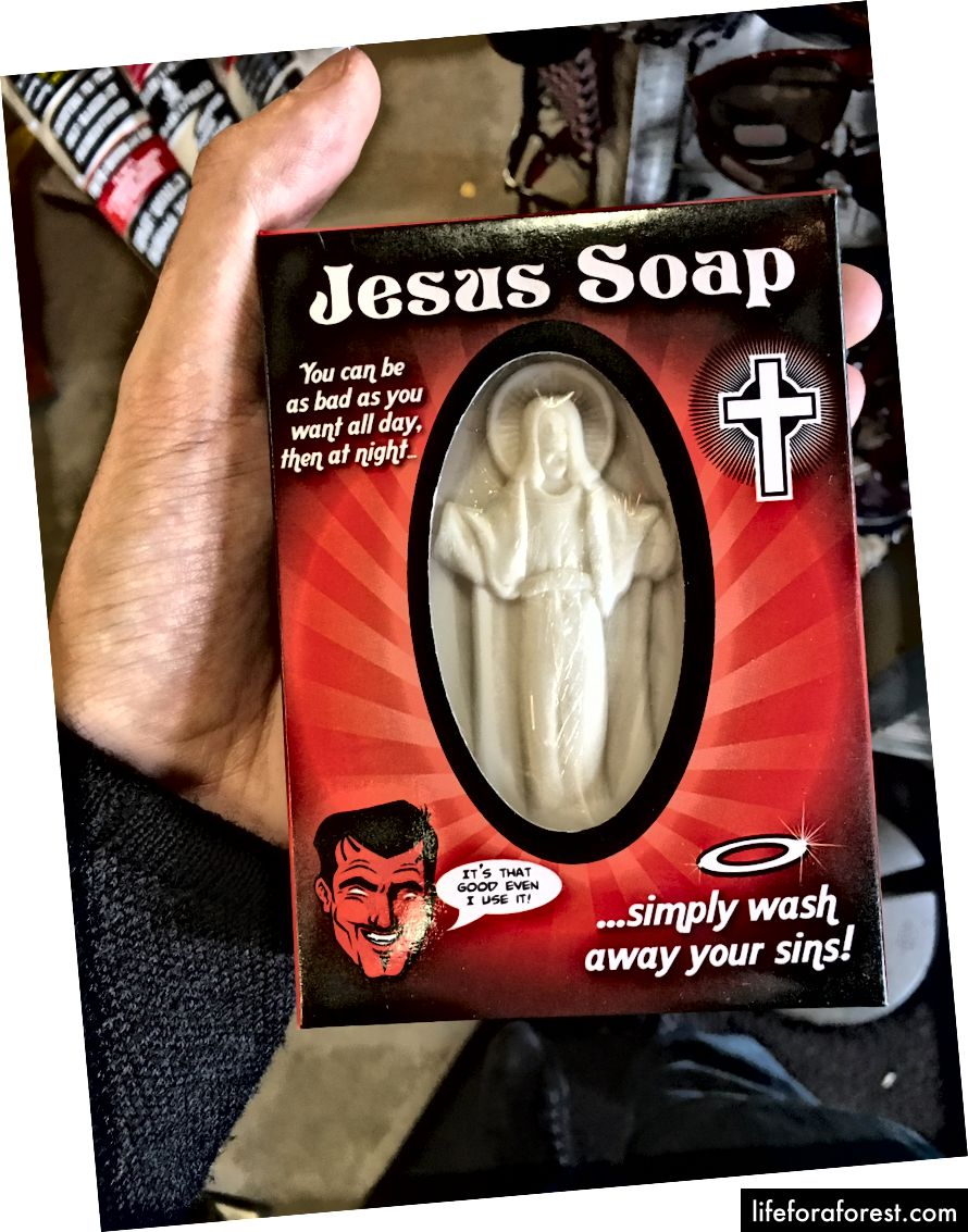 Săpunul lui Isus