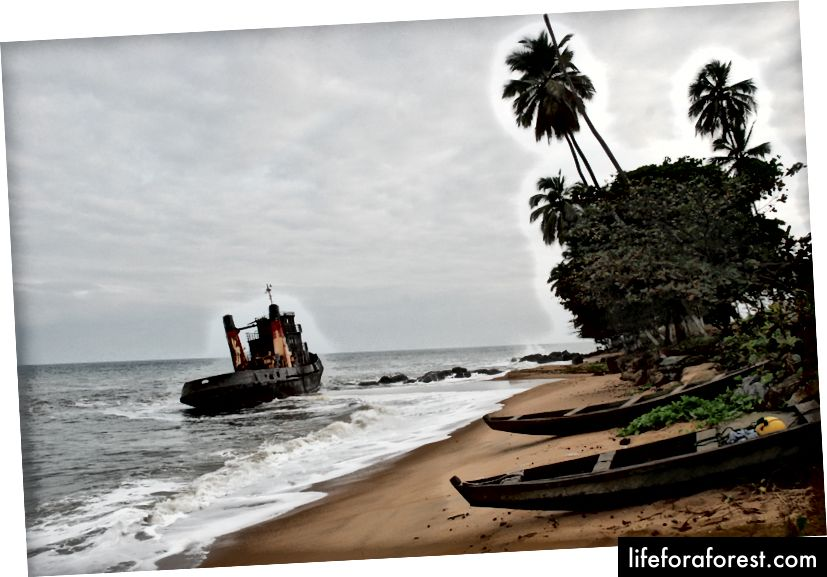 Kribi Beach View