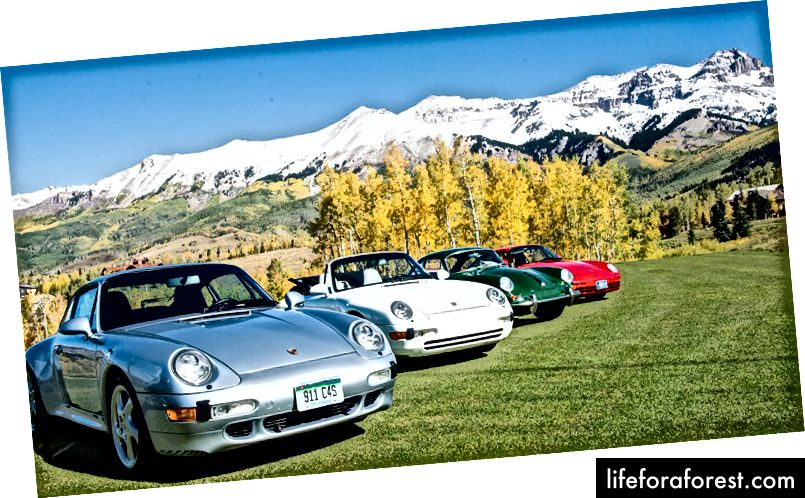 Telluride Cars and Colours