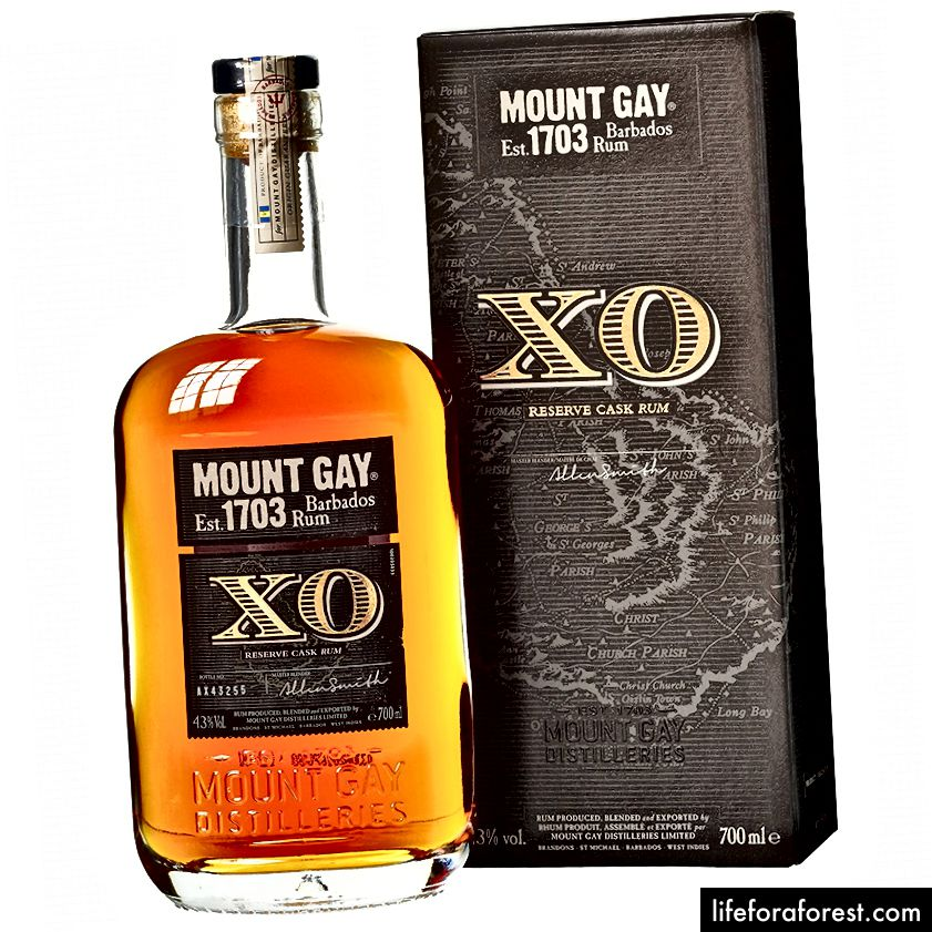 Mount Gay XO (kredit foto: romawines.co.uk)