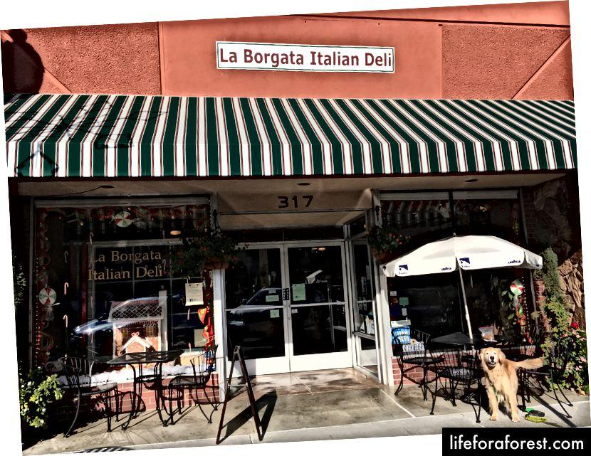 La Borgata van Vacaville, ook bekend als een van de schattigste delicatessenwinkels die je tegenkomt op weg naar Tahoe.