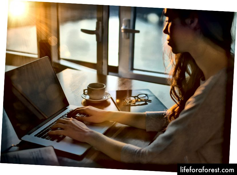 Võtke aega võimaluste uurimiseks - see tasub ennast ära! Pildi allikas: mõttekataloog Unsplash + redigeerimise kaudu.