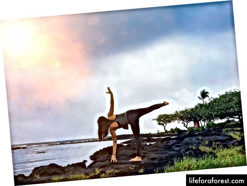 Dar viena nuotrauka iš mano mėgstamos saulėtekio Havajų fotosesijos.