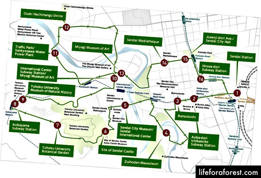 Lobus Bus Route