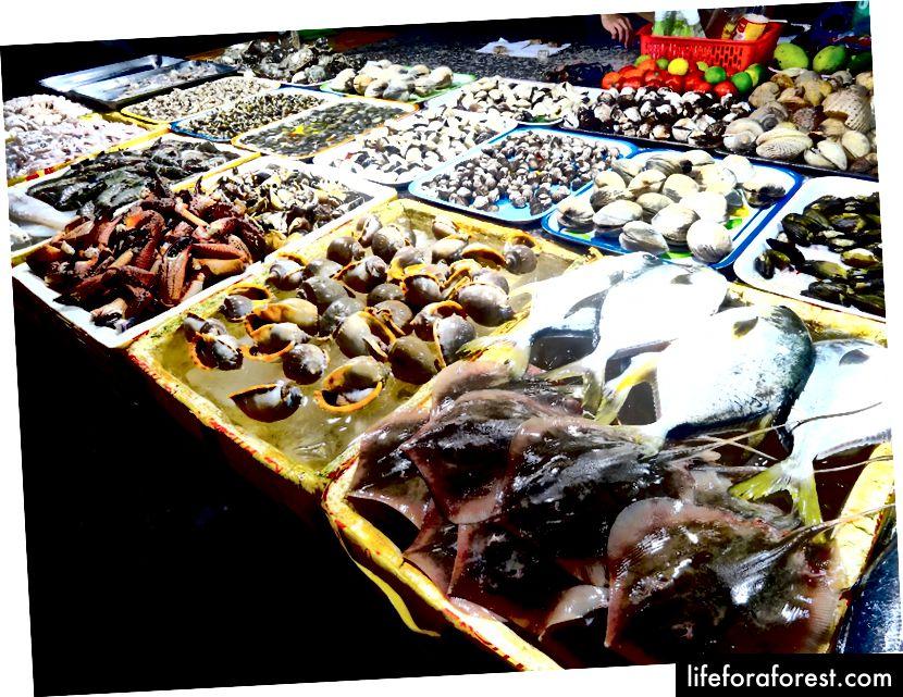 Vung Tau sjømatmarked