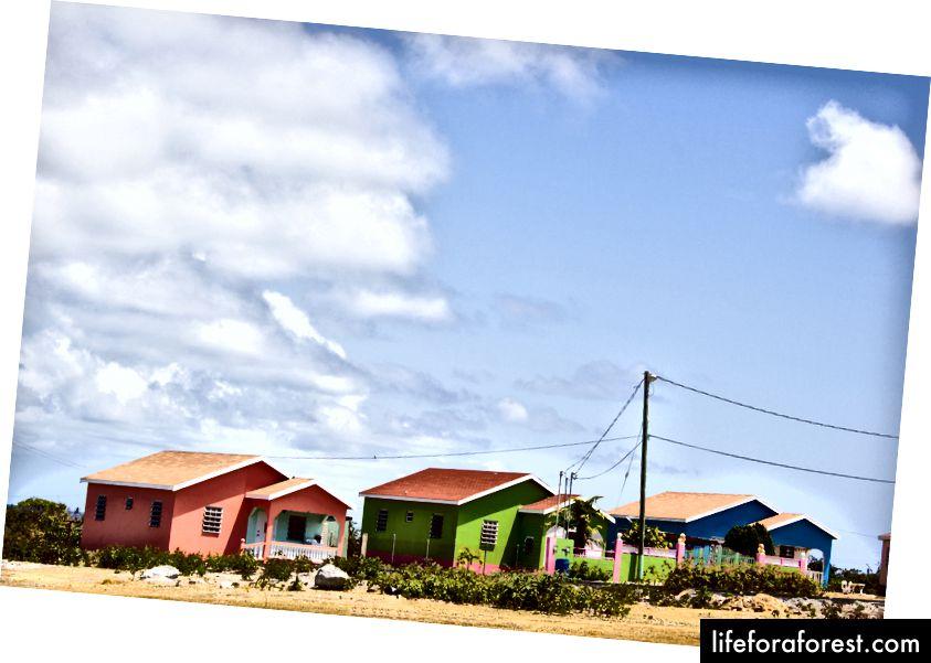 hjem i Nevis
