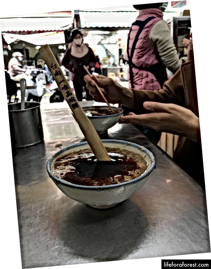 Yi-Wei-Pin Bowled Rice Cake 一味 品 碗 粿