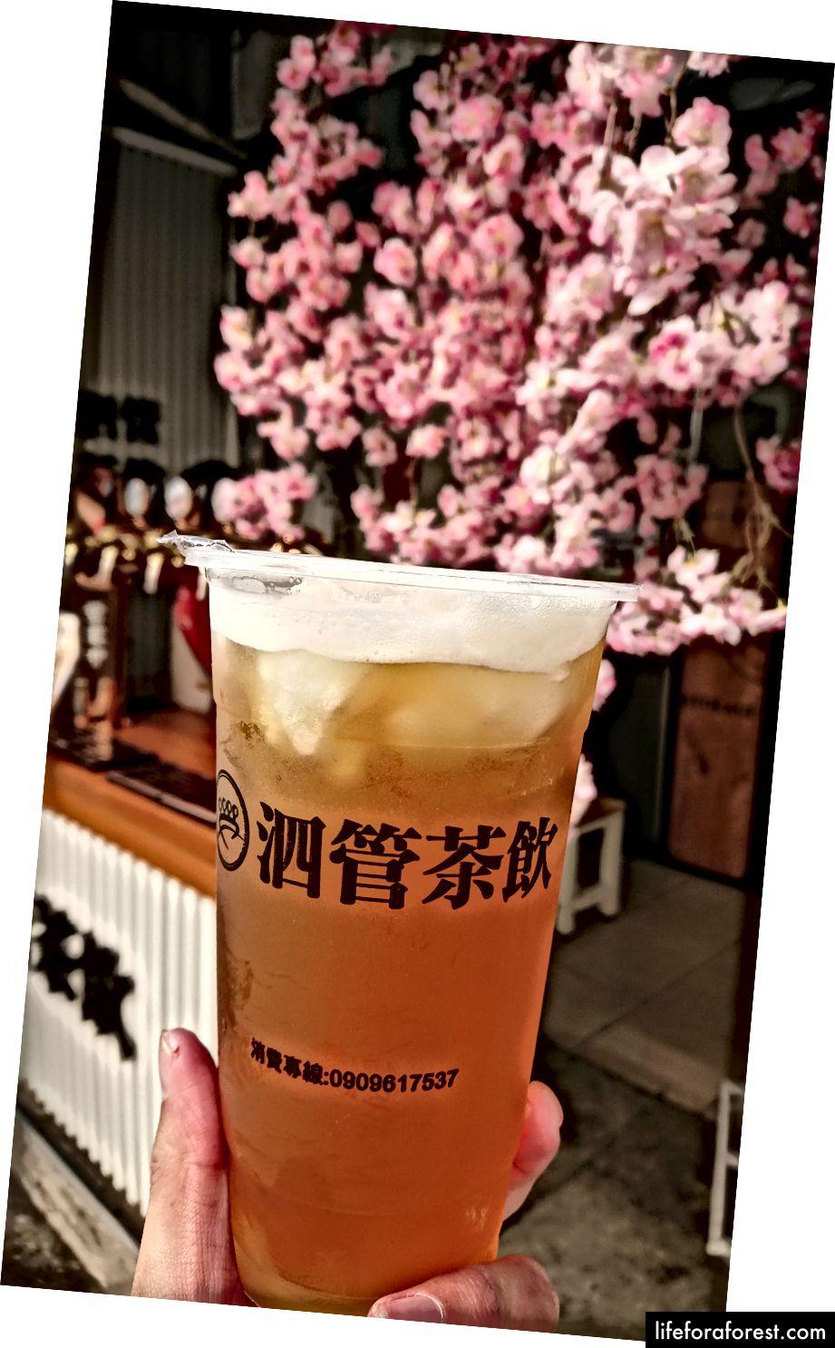 Trà thủ công Si-Guan 泗 管