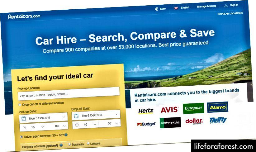Головна сторінка прокатів автомобілів