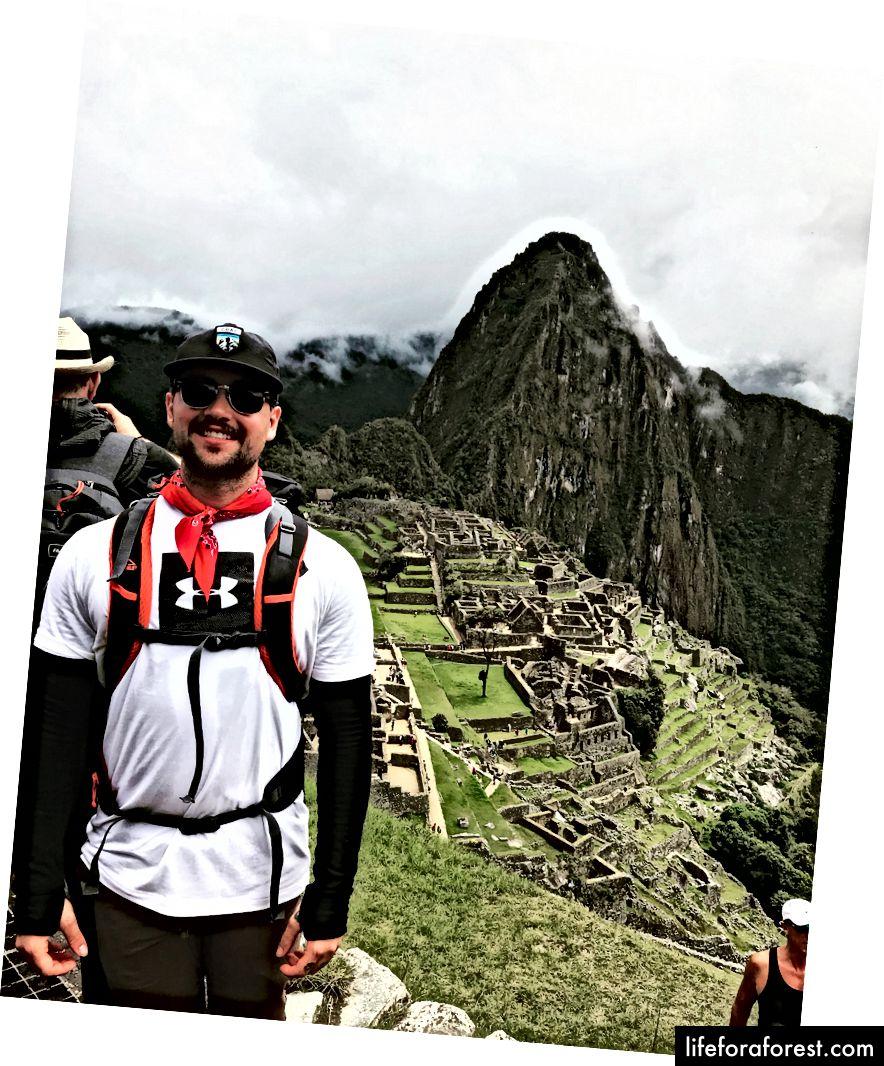 ฉันไปที่ Machu Picchu :)