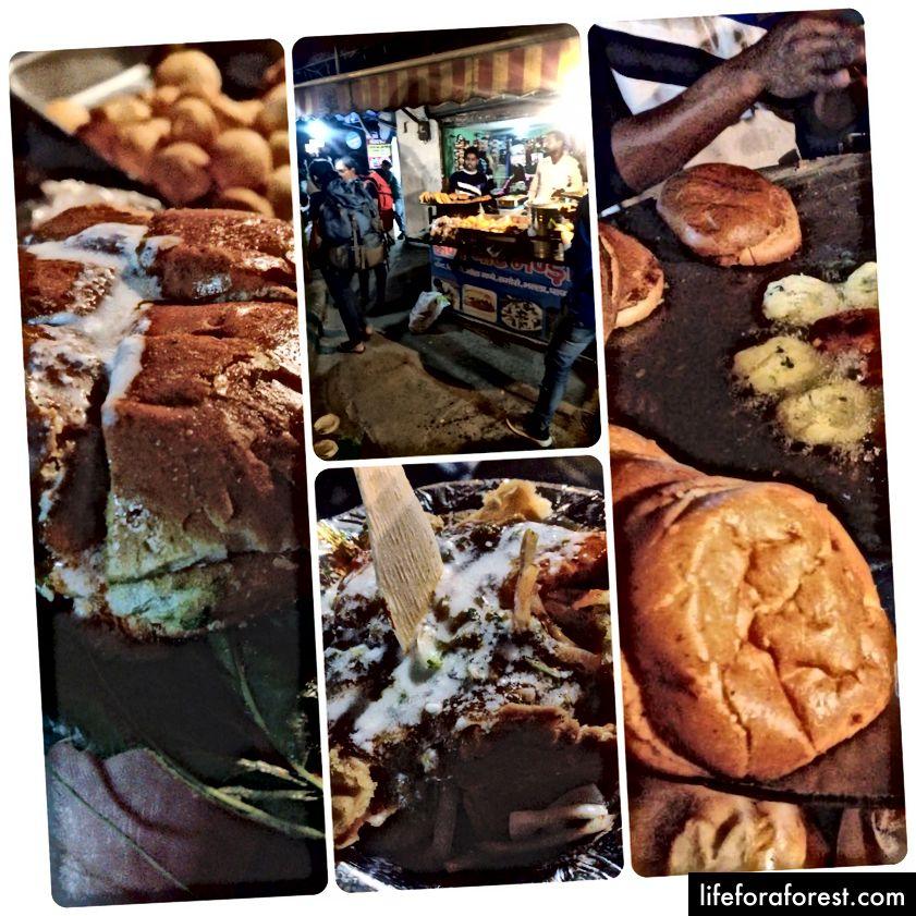 C'était l'endroit côté rue avec les délicieux Aloo Tikki, Samosa Chat et Aloo Tikki Bun. L'endroit est très proche de l'arrêt de la tour de l'horloge. Nous avons en fait cessé de manger du samosa et avons fini par manger tout ce qu'ils offraient.