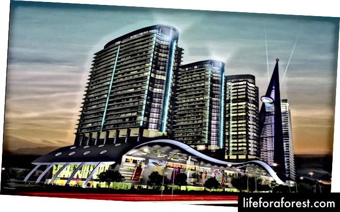 Trung tâm thương mại Centaurus - Islamabad | www.TrulyPakistan.com | #TrulyPakistan