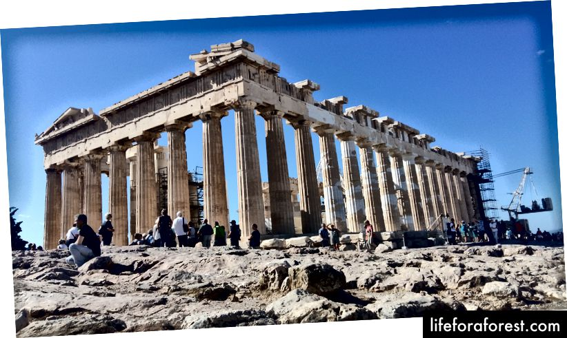 Parthenon của Acland - Iosa Travels