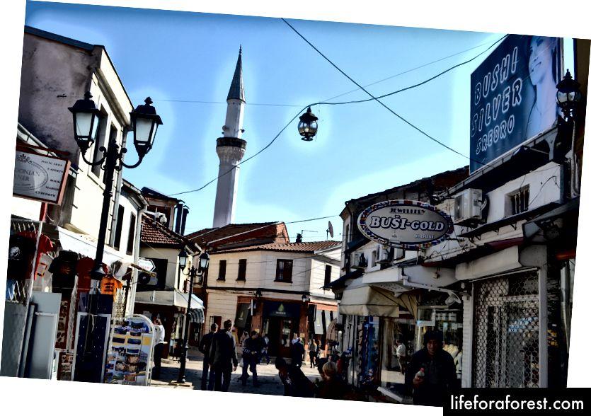Bầu không khí náo nhiệt tuyệt đẹp ở Old Bazaar của Skopje - Iosa Travels