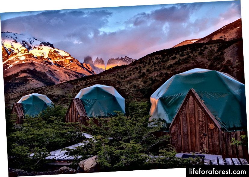 EcoCamp, Patagonia, Chile
