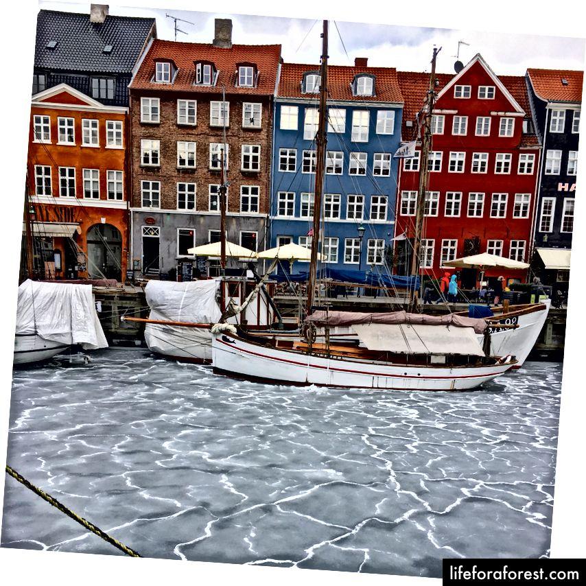 Nyhavn, зима '18!